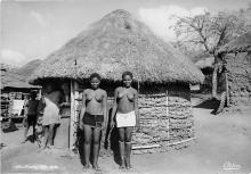 afr002451 - African Nude Postcard