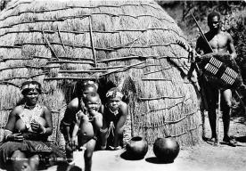 afr002452 - African Nude Postcard
