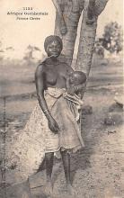 afr002470 - Femme Cerere African Nude Postcard