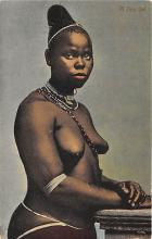 afr002471 - African Nude Postcard