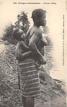 afr002473 - Femme Abbey African Nude Postcard