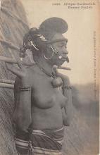 afr002475 - Femme Foulah African Nude Postcard