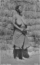afr002476 - African Nude Postcard