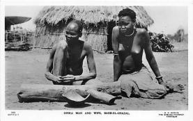 afr002479 - Bahr El Ghazal African Nude Postcard