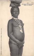 afr002480 - Cerere du Diobas African Nude Postcard