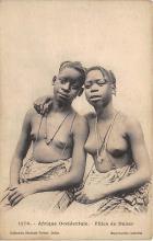 afr002483 - Filles de Dakar African Nude Postcard