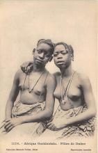 afr002485 - Filles de Dakar African Nude Postcard