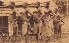 afr002487 - African Nude Postcard