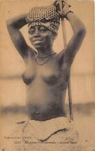 afr002489 - Jeune Agni African Nude Postcard