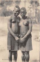 afr002493 - Jeunes Filles Diolas African Nude Postcard