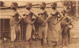 afr002495 - African Nude Postcard