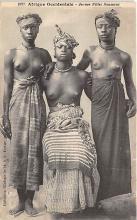 afr002496 - Jeunes Filles Soussous African Nude Postcard