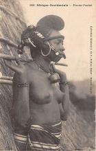 afr002499 - Femme Foulah African Nude Postcard