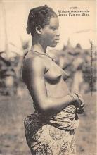 afr002502 - African Nude Postcard