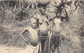 afr002514 - African Nude Postcard