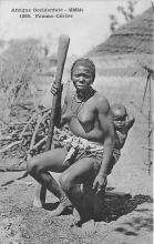 afr002518 - African Nude Postcard