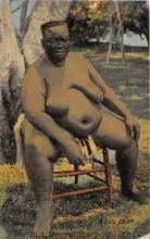 afr002520 - African Nude Postcard