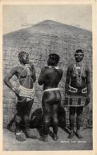 afr002521 - African Nude Postcard