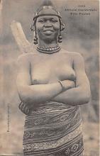afr002522 - African Nude Postcard