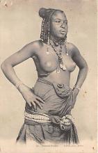 afr002524 - African Nude Postcard