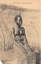 afr002526 - African Nude Postcard