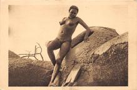 afr002529 - African Nude Postcard
