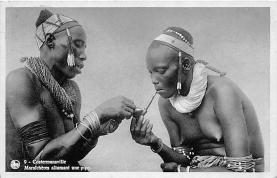 afr002531 - African Nude Postcard