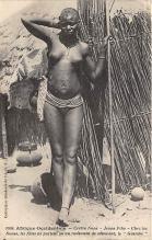 afr002532 - African Nude Postcard