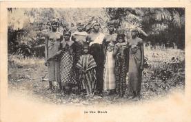 afr002533 - African Nude Postcard