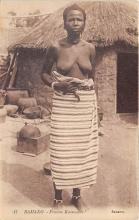 afr002534 - African Nude Postcard