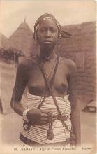 afr002535 - African Nude Postcard