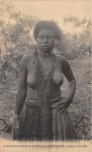 afr002536 - Jenue Femme African Nude Postcard