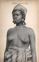 afr002537 - African Nude Postcard