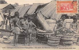 afr002540 - African Nude Postcard