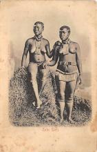 afr002541 - African Nude Postcard