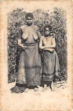 afr002542 - African Nude Postcard