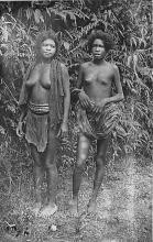 afr002543 - African Nude Postcard