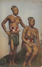 afr002546 - African Nude Postcard