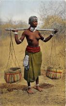 afr002549 - African Nude Postcard