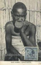 afr050001 - Race Babira African Nude Nudes Postcard Post Card