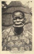afr050015 - The Negresses a Plateaux African Nude Nudes Postcard Post Card