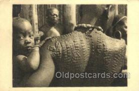 afr050016 - Cameroun African Nude Nudes Postcard Post Card