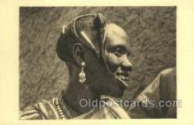 afr050018 - Tchad African Nude Nudes Postcard Post Card
