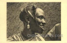 afr050018 - Tchad African Nude Nudes Postcard Post Card