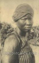 afr050026 - Congo Belge African Nude Nudes Postcard Post Card