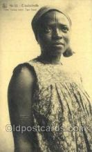 afr050027 - Congo Belge African Nude Nudes Postcard Post Card