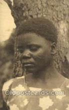 afr050028 - Congo Belge African Nude Nudes Postcard Post Card