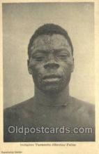 afr050029 - Congo Belge African Nude Nudes Postcard Post Card