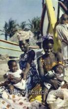 afr100004 - African Life Postcard Post Card