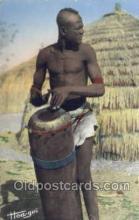 afr100005 - African Life Postcard Post Card